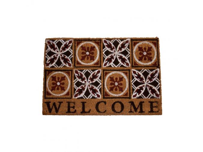 Rohožka s nápisem Welcome, 40x60 cm