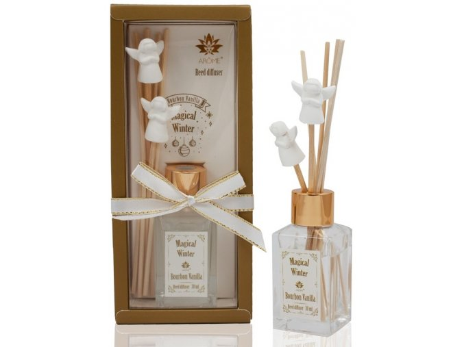 Osvěžovač vzduchu, tyčinkový difuzér, 30 ml, Bourbon Vanilla