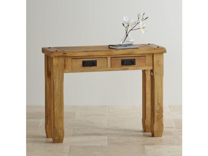 Konzolový stůl Devi 110x76x40 z mangového dřeva Mango natural