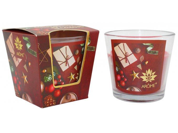 Vonná svíčka 120 g, vánoční balení, svařené víné