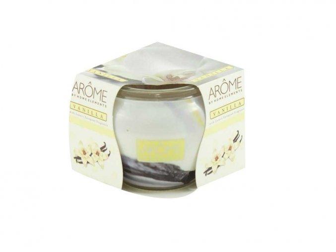 Vonná svíčka ve skle Vanilla 85 g, II. jakost
