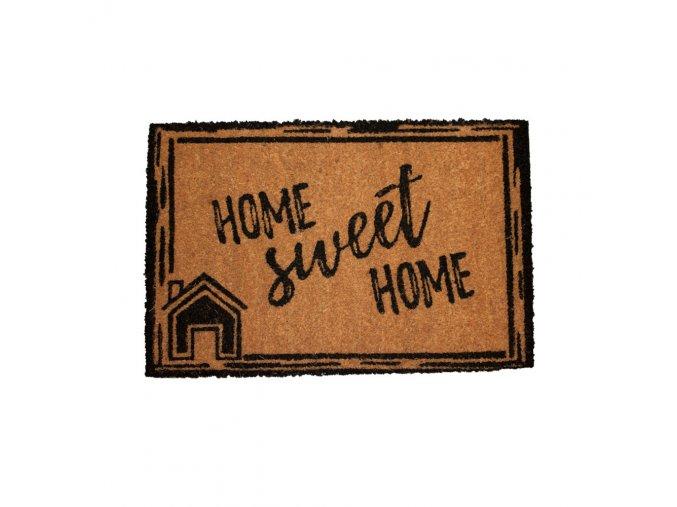 Rohožka s nápisem Home sweet home, 40x60 cm, II. jakost