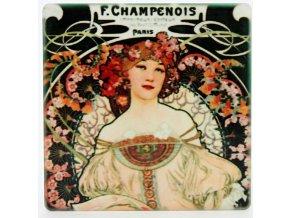 Magnetky na lednici, F. Champenois (Mucha)