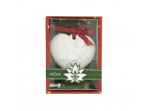 Osvěžovač vzduchu jílový difuzér v papírové krabičce s PVC víčkem - Gingerbread - 10 ml