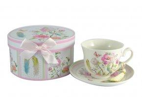 Hrnek na čaj s podšálkem