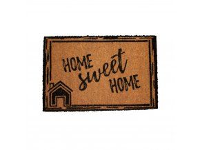 Rohožka s nápisem Home sweet home, 40x60 cm