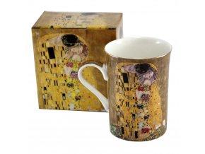 Luxusní porcelánový hrnek – Klimt, II. jakost