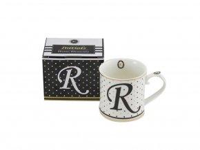 Porcelánový hrnek - Písmeno R