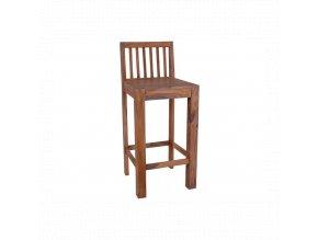 Barová židle z indického masivu palisandr barva Natural