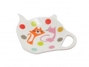 Podčajník - barevné kočky