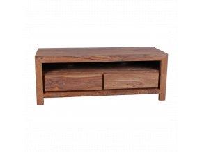TV stolek Tara 120x50x45 z indického palisandru, barva Světle medová