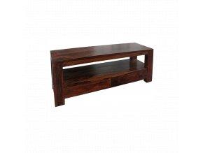 TV stolek Tara 140x55x45 z indického masivu palisandr, barva Světle medová