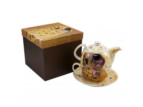 Čajová souprava pro jednoho, Klimt