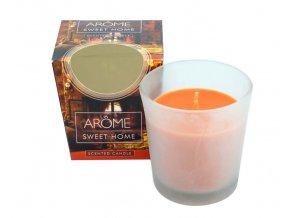 Kónická vonná svíčka, 100 g, Sweet home, II. jakost