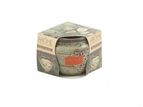Vonná svíčka ve skle Sweet Home 85 g, II. jakost