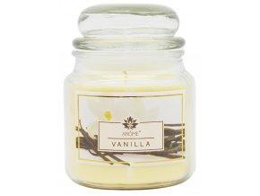 Velká vonná svíčka ve skle 424g - vanilka