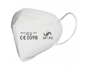 Respirátor FFP2 NR, iprotect, balení 50 ks