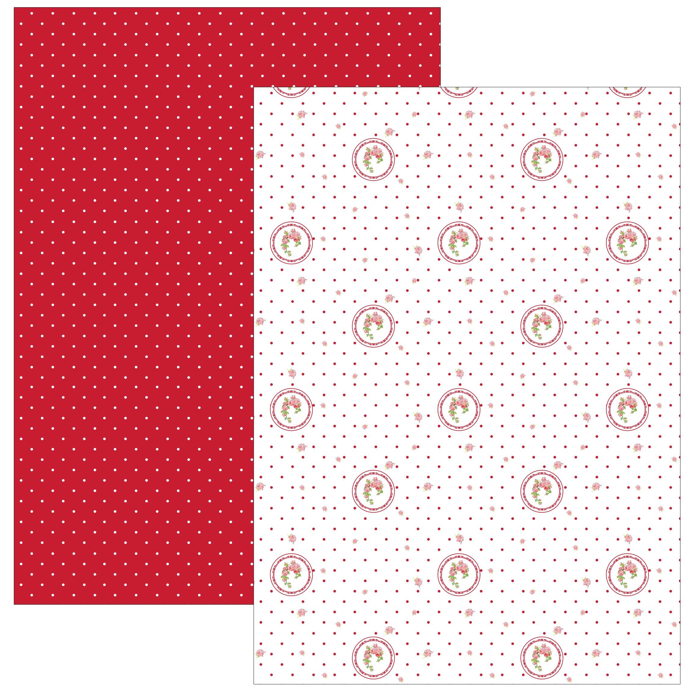 Home Elements kuchynské útěrky 50x70 cm Elegant red - sada 2 kusy