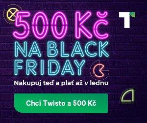 Twisto - získej 500 Kč na nákupy
