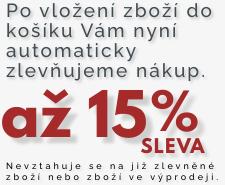 Sleva až 15%