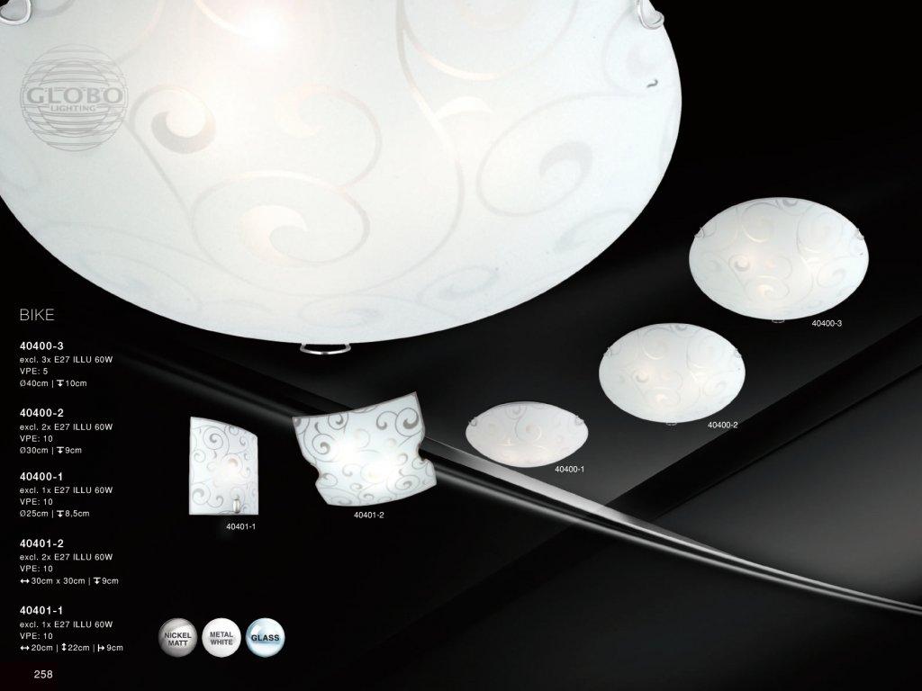 Svítidlo BIKE 40401-2 GLOBO