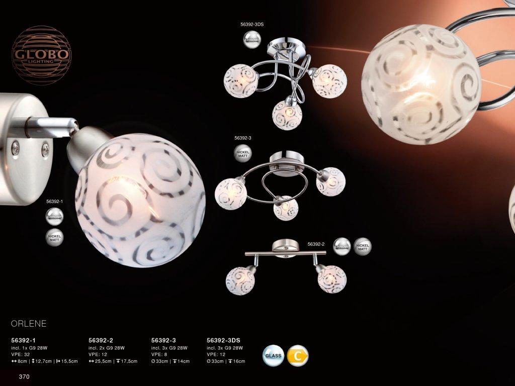 Svítidlo ORLENE 56392-2 GLOBO  * včetně žárovek ZDARMA *
