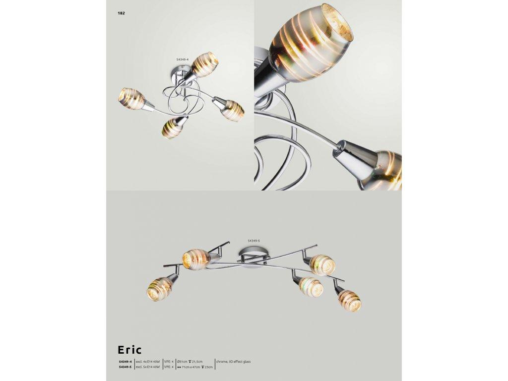Svítidlo ERIC 54349-4 GLOBO