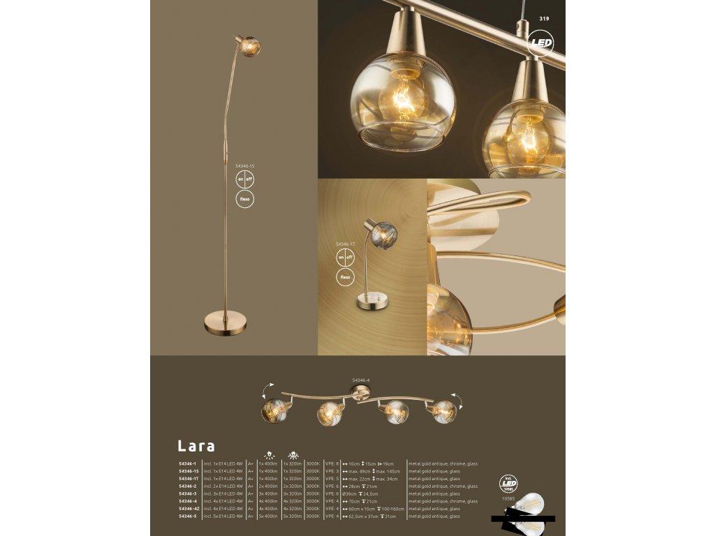 Svítidlo LARA 54346-2 GLOBO  * včetně LED žárovek ZDARMA *