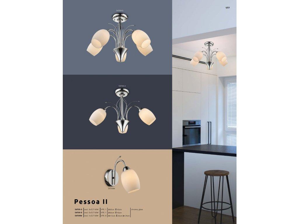 Svítidlo PESSOA II 54709-3 GLOBO