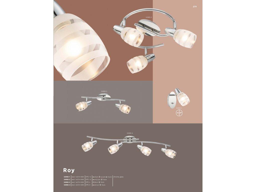 Svítidlo ROY 54985-3 GLOBO