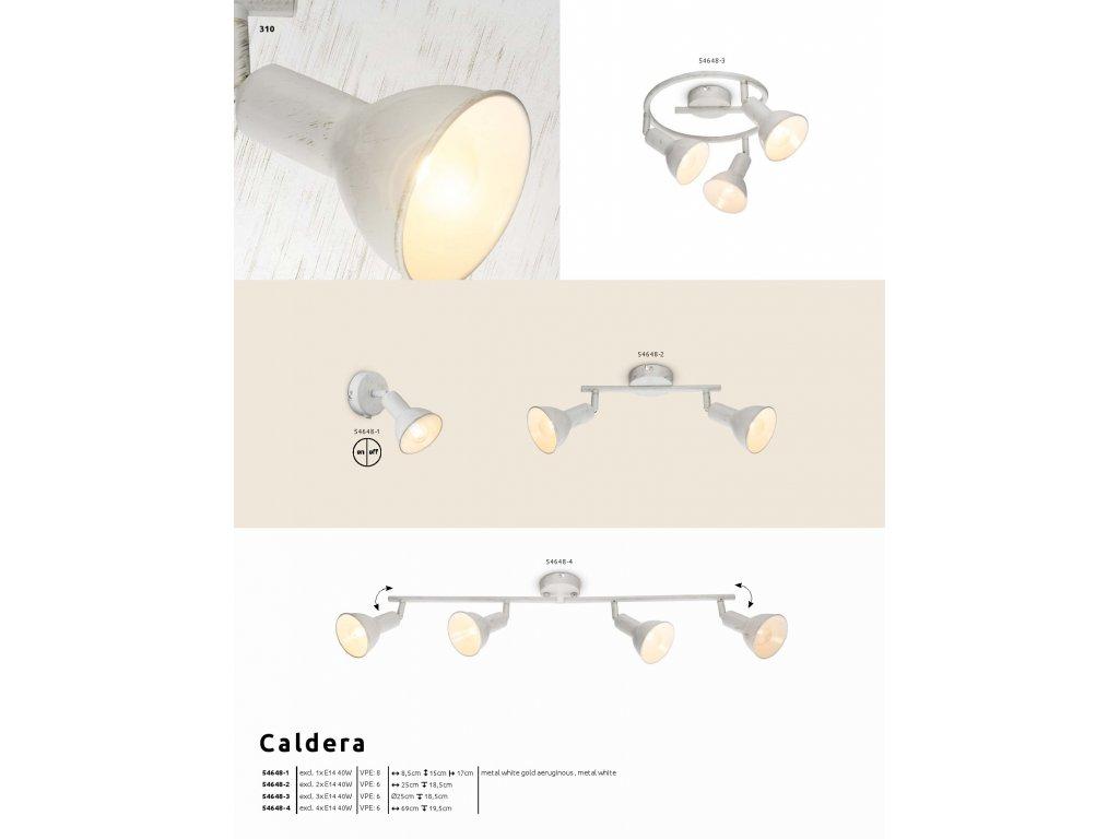 Svítidlo CALDERA 54648-1 GLOBO