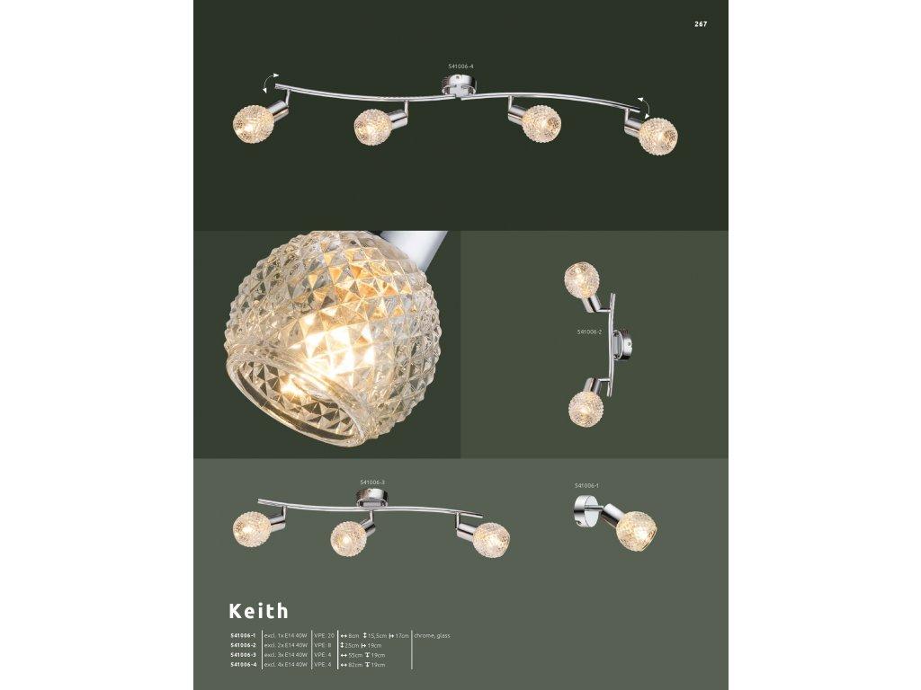 Svítidlo KEITH 541006-2 GLOBO