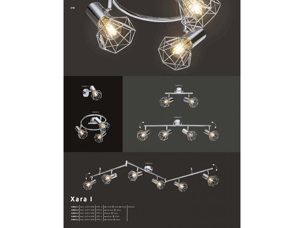 Svítidlo XARA I 54802-6 GLOBO