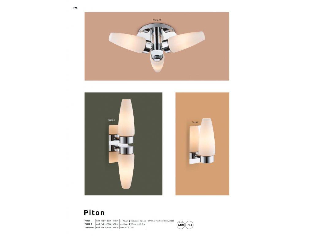 Svítidlo PITON 78160-2 GLOBO