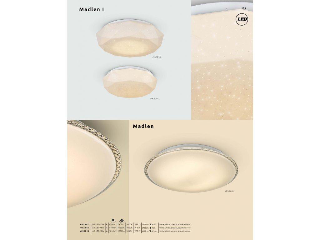 Svítidlo MADLEN I 41628-12 GLOBO  * včetně světelného zdroje LED *