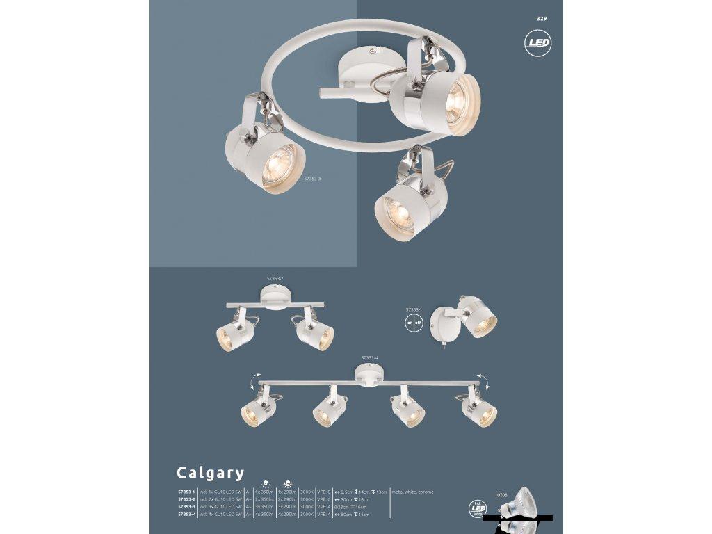 Svítidlo CALGARY 57353-4 GLOBO  * včetně LED žárovek ZDARMA *