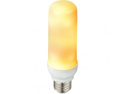 LED žárovka E27/3W GLOBO 10100 LED BULB  * s efektem ohně *