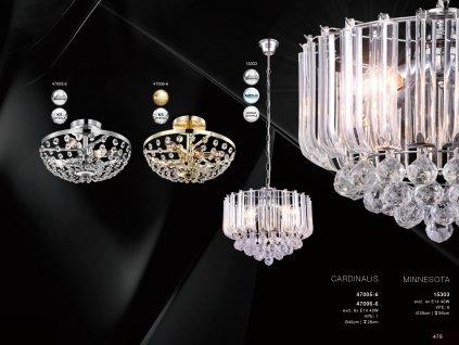 Svítidlo CARDINALIS 47006-6 GLOBO