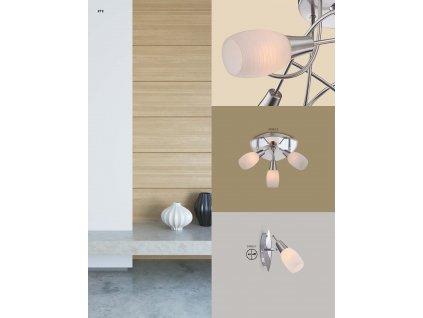 Svítidlo GILLIAN 54983-1 GLOBO