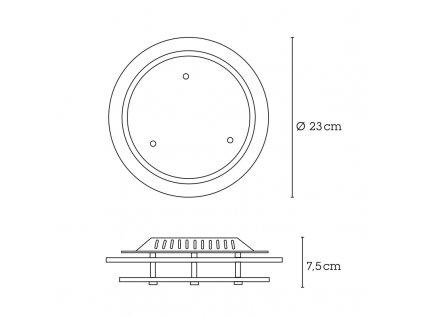 Svítidlo INDI 48167 GLOBO