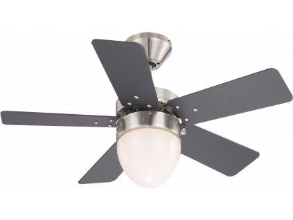 Ventilátor MARVA 0332 GLOBO s osvětlením