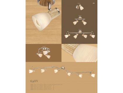 Svítidlo GYLFI 54352-2 GLOBO