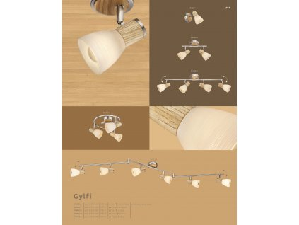 Svítidlo GYLFI 54352-3 GLOBO
