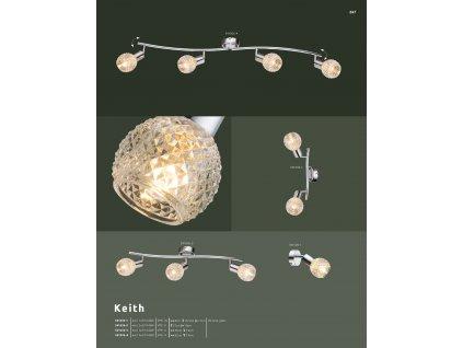 Svítidlo KEITH 541006-4 GLOBO