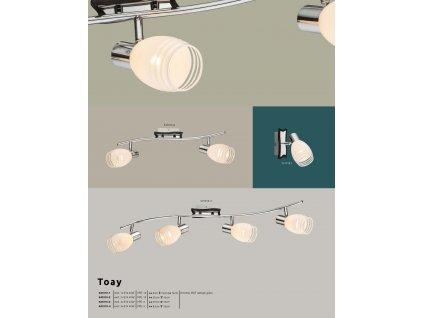 Svítidlo TOAY 541010-4 GLOBO