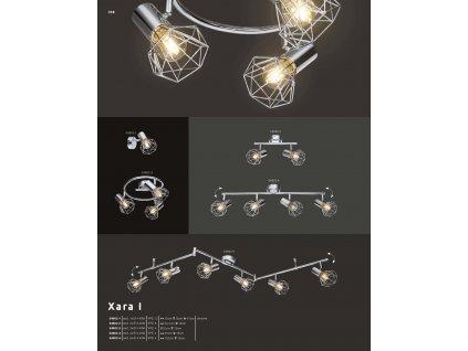 Svítidlo XARA I 54802-4 GLOBO
