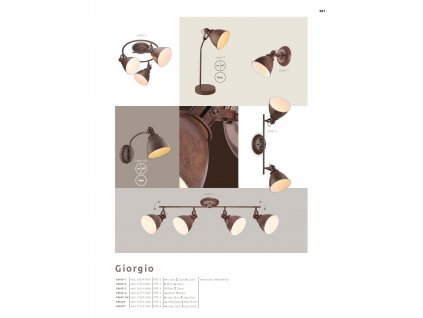 Svítidlo GIORGIO 54647-1 GLOBO