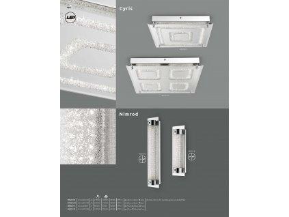 Svítidlo NIMROD 48503-8 GLOBO  * včetně světelného zdroje LED *