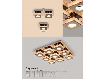 Svítidlo CAYMAN I 49403-1 GLOBO  * včetně světelného zdroje LED *
