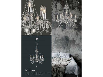 Svítidlo WILLIAM 63129-9 GLOBO